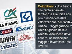 Opa Crédit Agricole su Credito Valtellinese, le reazioni di First Cisl sulla stampa