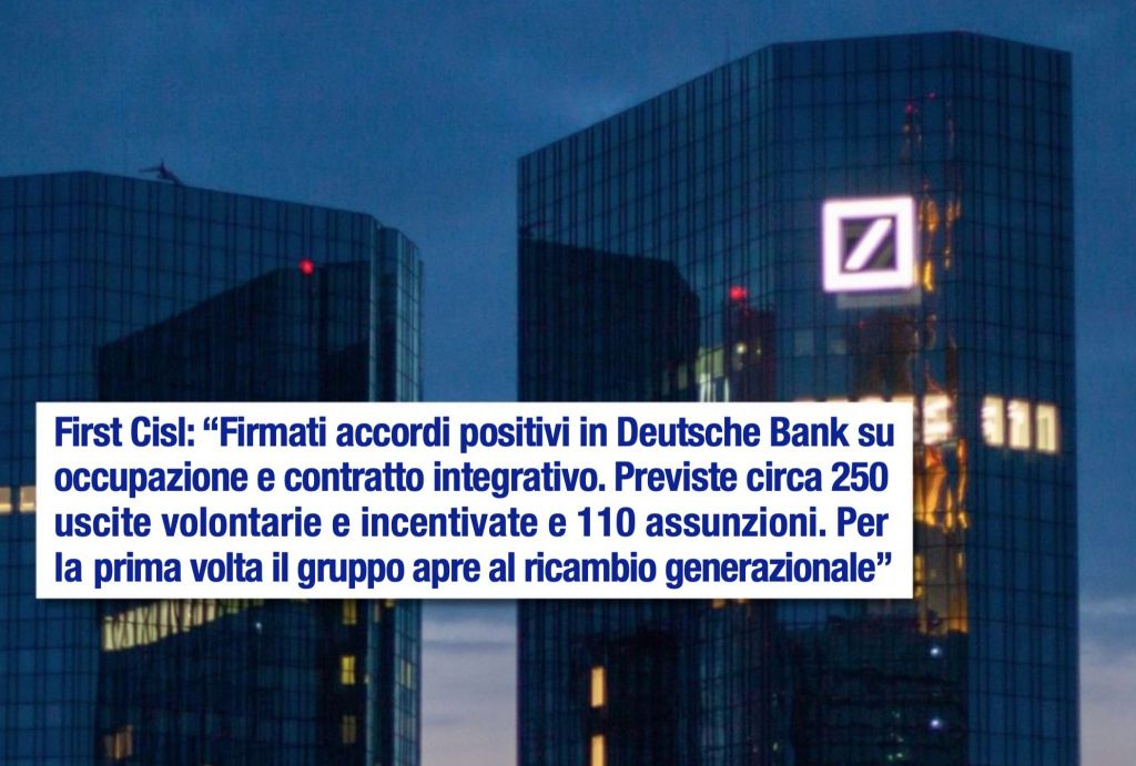 Deutsche Bank Notizie