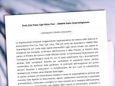 Coronavirus, comunicato congiunto Anapa sindacati e lettera al governo