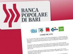 Popolare di Bari, First Cisl, soddisfazione per la verifica post accordo 10 giugno