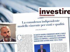 Colombani su Investire, la consulenza su base indipendente è il modello vincente