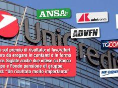 First Cisl, accordo in UniCredit premia impegno lavoratori in anno pandemia