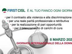 8 marzo, ogni giorno First Cisl al fianco delle donne