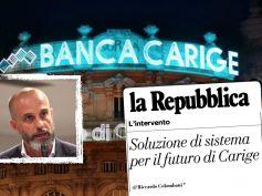 Carige, Colombani su Repubblica, dopo decisione Ccb serve soluzione di sistema