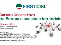 Credito cooperativo, tra Europa e coesione territoriale, la tavola rotonda First Cisl