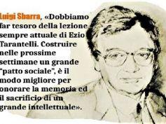 Luigi Sbarra, onorare la memoria di Ezio Tarantelli con un patto sociale per il Paese