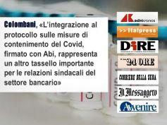 Stampa rilancia intesa su vaccinazioni in banca, Colombani, è tassello importante