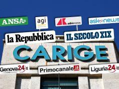 La stampa su Carige, First Cisl, rilancio banca è sostenibile con aumento del credito