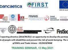 Contrattare l'inclusione nei luoghi di lavoro, seminario formativo europeo