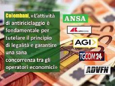 Stampa rilancia considerazioni Colombani su relazione Uif, antiriciclaggio fondamentale per legalità ma ai bancari serve più tutela