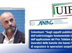 Uif, Colombani, legalità fondamentale per crescita sostenibile. Italia sede dell'Autorità europea antiriciclaggio
