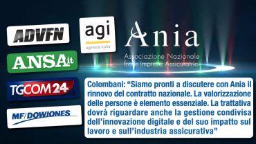 Assemblea annuale Ania, Colombani, assicurazioni strategiche per ripresa, pronti a discutere rinnovo contratto nazionale
