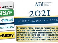 Colombani sulla stampa, bene Patuelli su relazioni sindacali, no a nuovi tagli in piccole banche