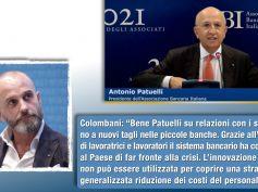 Colombani, bene Patuelli su relazioni con i sindacati, no a nuovi tagli nelle piccole banche