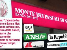 Fondazione e Banca Mps siglano accordo per chiudere contenzioso. Colombani, ora avanti con rafforzamento patrimoniale