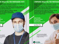 """Campagna Cisl sui vaccini, """"Il nostro impegno per proteggere tutti"""""""