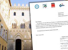 Mps, i segretari generali chiedono al Ministro Franco un incontro urgente