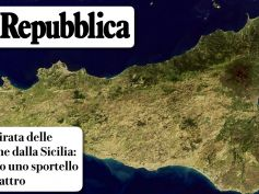 First Cisl Sicilia e il dossier di Repubblica, ritirata banche dall'isola complica la vita delle comunità