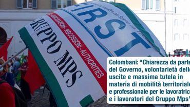 Sciopero Mps, Colombani: chiarezza da parte del governo, massima tutela per i lavoratori
