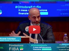 Educazione finanziaria, Colombani, il risparmio si tutela se anche le banche fanno la loro parte. Video
